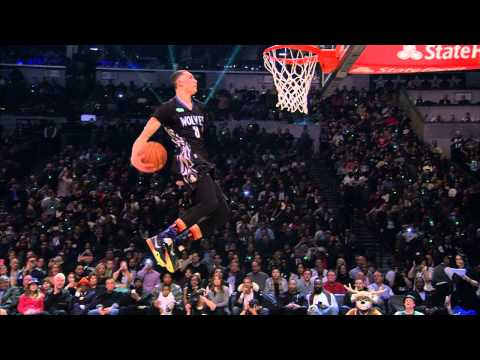 Zach LaVine Goes Behind His Back: 2015 Sprite Slam-Dunk Contest