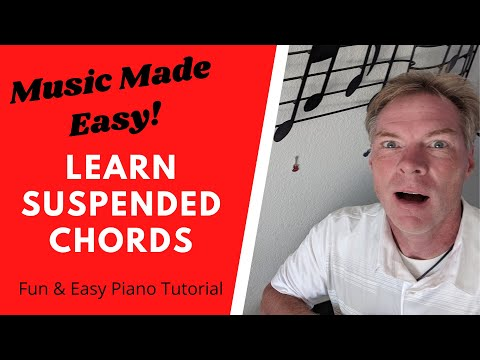 EASY Piano HACK! Learn SUSPENDED CHORDS to Play BETTER & Impress Others!