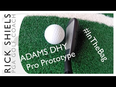 ADAMS DHY Driving Iron Hybrid Review