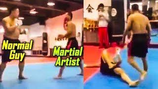 Martial Artist vs Normal Guy - Martial Artist Lost?