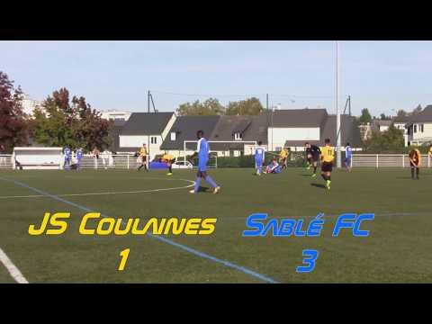 U 16 - Sablé FC - JS Coulaines 23.09.2017
