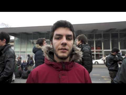 Manifestazione a Gallarate, parlano gli studenti