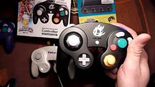 Nintendo Gamecube controller USB adapter and Smash controller technical review