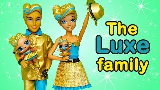 Video LOL Families ! The Luxe Family Plays Hide & Seek | Toys and Dolls Fun Opening LOL Under Wraps |SWTAD MP3, 3GP, MP4, WEBM, AVI, FLV Agustus 2018