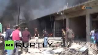 Взрыв в сирийском Эль-Камышлы: 44 человека погибли, более 170 пострадали