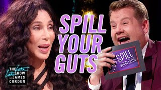 Video Spill Your Guts or Fill Your Guts w/ Cher  #LateLateLondon MP3, 3GP, MP4, WEBM, AVI, FLV Juli 2018