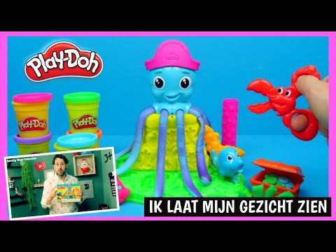 Play Doh Cranky The Octopus uitpakken | Family Toys Collector