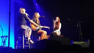 Ingrid Michaelson with Lennon and Maisy Stella at the Ryman