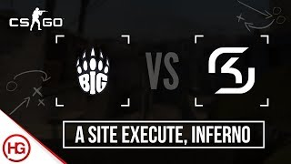BUY & SELL CS:GO SKINS: https://goo.gl/BTJE35 An impressive execute onto the A site of Inferno by BIG. Great use of smoke to...