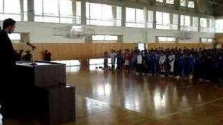 Kawachinagano-shi Japan  city images : My Speech - At a Japanese Junior High School