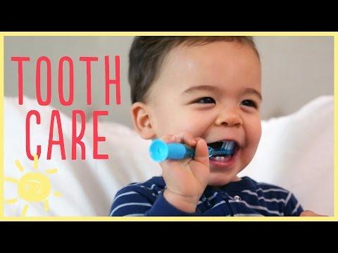 ELLE | TODDLER TOOTH CARE w/ pediatric dentist