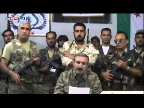 الأسعد في أول بيان من داخل الأراضي السورية