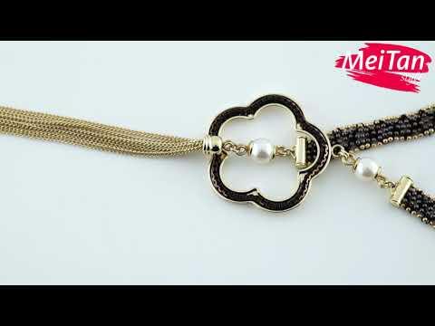 Колье «Вдохновение» в золоте MeiTan style MeiTan