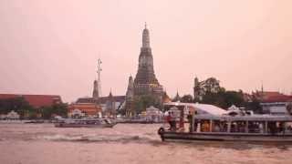 Time Lapse Wat Arun, Bangkok Thailand.