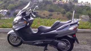 5. 2007 Suzuki Burgman 400 Review