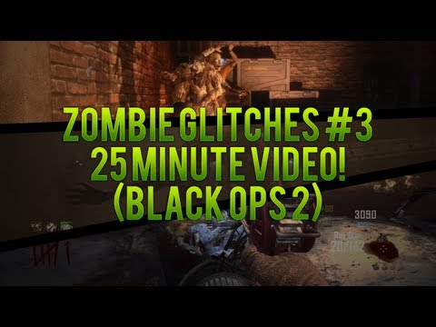 Working Zombie Glitches #3 - Black Ops 2 Zombies (Barrier Glitches, Spots, Out Of Maps & More)