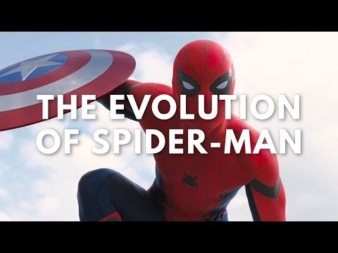 The Evolution of Spiderman
