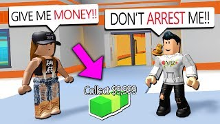 BRIBING COPS TO NOT ARREST ME!! (Roblox Jailbreak)