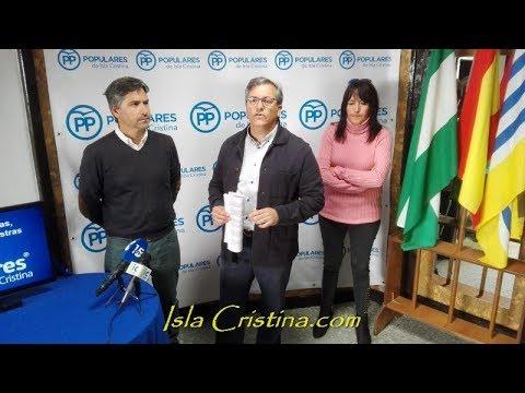 Rueda de Prensa Partido Popular de Isla Cristina