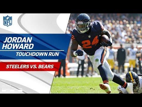 Video: Eli Rogers' Botched Punt Sets Up Jordan Howard's TD Run! | Steelers vs. Bears | NFL Wk 3 Highlights