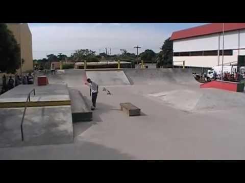 Campeonato de skate em dracena-sp lucas marcel
