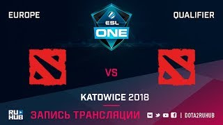 TEAMMORIARTY vs Team World, ESL One Katowice EU, game 2 [Adekvat, Smile]