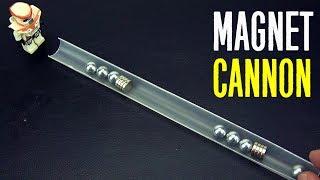 Магнитная пушка - магнитная пусковая установка и другие крутые эксперименты с магнитами!