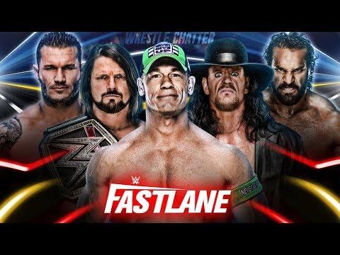 WWE Fastlane 2018 Final Updates Highlights Winners !