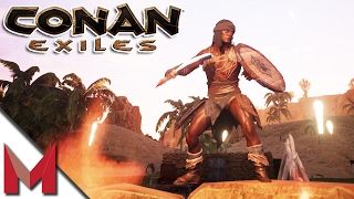Mazion reporting for duty, throwing you some Conan Exiles Gameplay! Pooping Evolved has decided to play this game as a group, so you can expect fun times and...