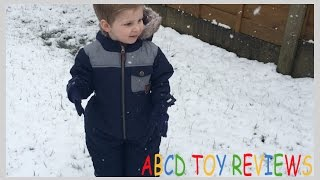 Welcome to ABCD Toy ReviewsJoin Bentley and Aubree having adventures and playing with toys. Mum and Dad also join in the fun with unboxing videos!We hope you like our channel, if there is anything you would like to see just let us know in the comments…and don't forget to subscribe! Thanks so much, Aubree, Bentley, Casey and Darren x xIn this videoSnow! Aubree's first time seeing snow! It's been snowing here in the UK and bentley was happy be off school so he could play on his bike! It was Aubree's first time seeing snow!At Strider®, we love riding bikes and we love inspiring kids to ride. Our mission is to build lightweight, efficient, all-terrain bikes that build two-wheeled balance, coordination, and confidence in children.Strider Balance Bikes are the result of 8 years of development, manufacturing improvements, riding, observation, testing, and even racing. When you purchase a Strider, you buy into the 'club' that is Team Strider; you become one of the early adopters that are changing the paradigm of how kids learn to ride and setting the new standard for how young children explore the world on two wheels.From the company Founder all the way to the warehouse shipping staff, Strider Sports Intl., Inc. is full of riding enthusiasts, most of whom are also parents of young Strider-riding children. Our team knows kids, knows riding, and knows how to make a learning bike that truly functions for young riders.The lightweight aluminum frame makes the 12 Pro the lightest production Strider® toddler bike available and a perfect way for STRIDER Riders to take the next step with their riding. Whether it's onto the playground or the dirt track.  If you are looking for the lightest, most advanced balance bike for toddlers on the market, the STRIDER 12 Pro is for you.If you liked this video you can watch more here…Legoland Discovery Centre by ABCD and Friends https://youtu.be/iITqVMWcAvoAlton Towers Part 2 Splash Landings Waterparkhttps://youtu.be/cQNQwnnEC6MAlton Towers Part 