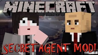 Minecraft Mod Review: Secret Agent Mod! - CRAFTABLE WEAPONS, GADGETS AND SUITS!