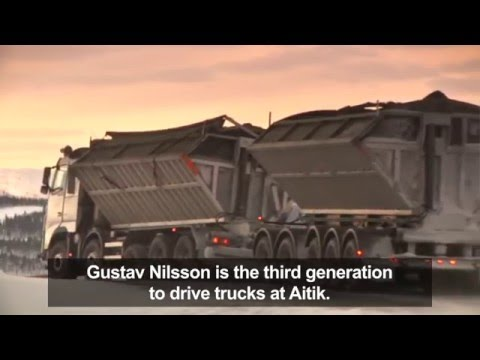 Грузовики Volvo Trucks - Goliat, a Volvo FH16 that transports 500 tonnes of copper ore every day
