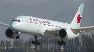Air Canada a contar del 26 de marzo operará el vuelo ACA092 a Santiago y Buenos Aires con el nuevo Boeing 787-8 Dreamliner, el cual reemplaza al Boeing 767-300ER que operaba anteriormente y cambia al tradicional Boeing 777-300ER que opera en el verano del hemisferio sur. El encargado de la primera operación fue el B788 C-GHQQ que arribó a las 10:00 am proveniente de Toronto. Despegó con destino a Buenos Aires a las 12:10 pm.Air Canada operando con Boeing 777-300ER en SCLhttps://www.youtube.com/watch?v=CLB8WIrHmncAir Canada operando con Boeing 777-200LR en SCLhttps://www.youtube.com/watch?v=Hj7IdbqSbbQAir Canada operando con Boeing 767-300ER en SCLhttps://www.youtube.com/watch?v=iX0A19P5GKc© Juan Carlos BascuñánTodos los derechos reservadosAll rights reserved