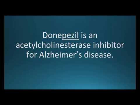 How to pronounce donepezil (Aricept) (Memorizing Pharmacology Flashcard)