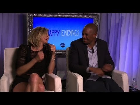 Eliza Coupe & Damon Wayans Jr. Say Their Characters