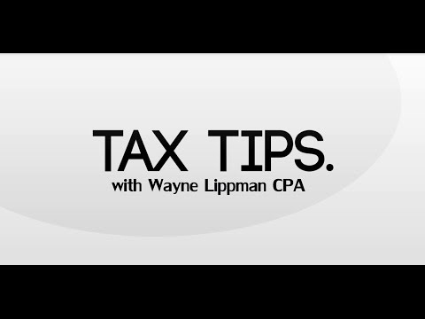 Wayne Lippman Tax Tips