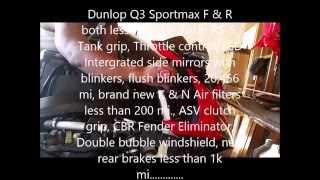 6. 2005 ( 04 - 07 ) generation Honda CBR1000rr