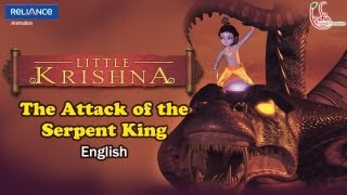 Video Little Krishna English - Episode 1 Attack Of Serpent King MP3, 3GP, MP4, WEBM, AVI, FLV November 2018