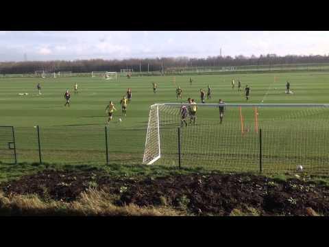 Maurício Copertino - Treino Manchester United (ENG) - Under19