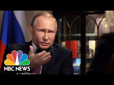 Confronting Russian President Vladimir Putin, Part 1 | Megyn Kelly | NBC News (видео)