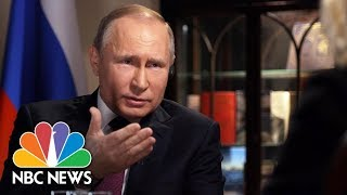 Video Confronting Russian President Vladimir Putin, Part 1 | Megyn Kelly | NBC News MP3, 3GP, MP4, WEBM, AVI, FLV Desember 2018