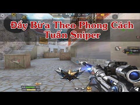 CF Legends : Cầm Khẩu Sniper Giảm Thanh Đẩy Theo Phong Cách Dân Chơi - Thời lượng: 10 phút.