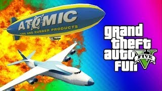 GTA 5 Online Glitches & Mods - Tank Teleport Glitch, Cargo Plane, Blimp Fun (GTA 5 Funny Moments) - YouTube