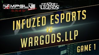 Infuzed vs Wardogs, game 1