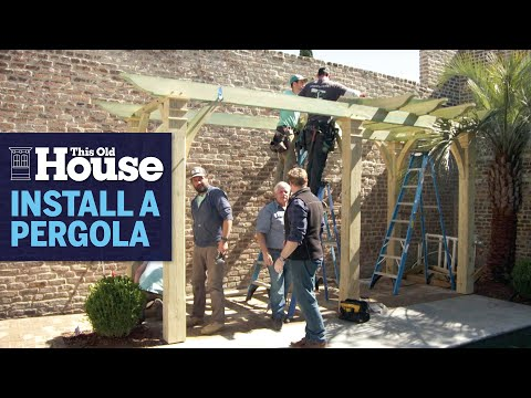 How to Build a Pergola | This Old House