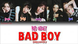 Video Red Velvet (레드벨벳)- Bad Boy (English Ver.)-가사 (Sub español+Roma+Han+Eng Sub+Lyrics+Colorcodedlyrics) MP3, 3GP, MP4, WEBM, AVI, FLV September 2018