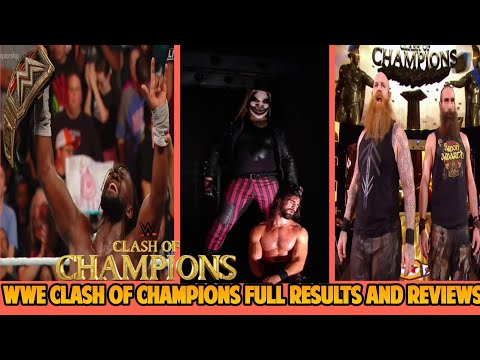 WWE Clash Of Champion 15th Sept. 2019 Highlights Results