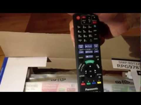 Panasonic DMP-BDT220 Unboxing