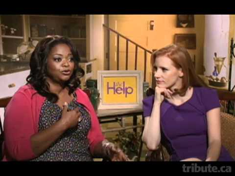 Octavia Spencer & Jessica Chastain - The Help Interview