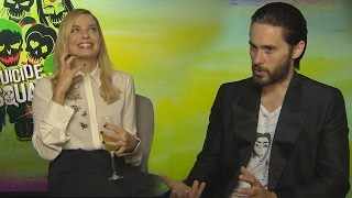 Jared & Margot on deleted Joker & Harley Scenes